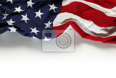 Fototapeta American flag na Dzień Pamięci i 4 lipca