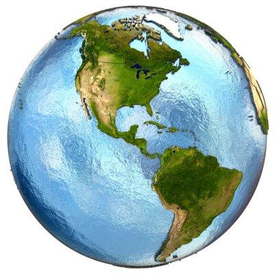 Fototapeta Ameryka na Ziemi