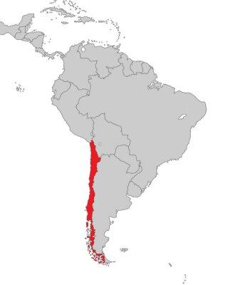 Fototapeta Ameryka Południowa - Chile