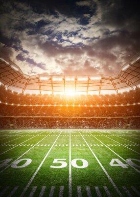 Fototapeta Amerykańska piłka nożna stadion