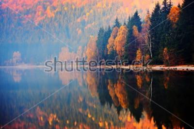 Fototapeta Ana krajobraz, Rumunia. jesień krajobraz w górach