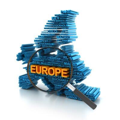 Fototapeta Analiza Europa