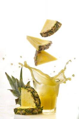 Fototapeta ananas powitalny