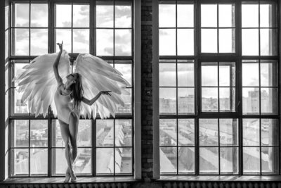 Fototapeta angel woman