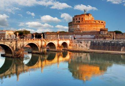 Fototapeta Angelo Castel - Rzym, Włochy