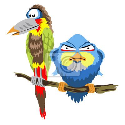 Fototapeta angry birds