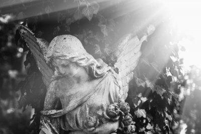 Fototapeta anioł w słońcu (antyczny posąg)