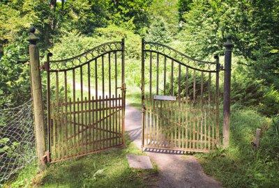 Fototapeta Antique Iron Gate