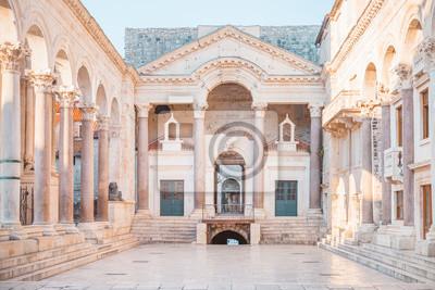 Fototapeta Antyczny pałac budował dla Romańskiego cesarza Diocletian - Rozłam, Chorwacja