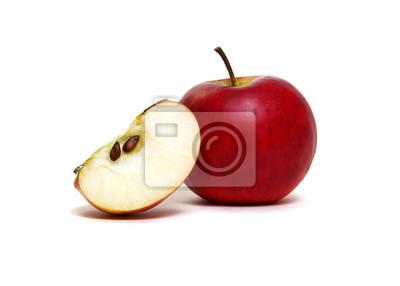 Apple z plasterkiem na biel