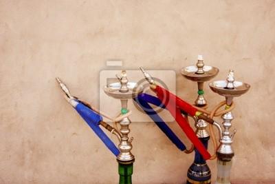 Fototapeta Arabski palenia sheesha