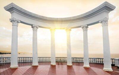 Fototapeta Arch na wybrzeżu