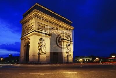 Fototapeta Arch Triumph w nocy