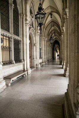 Fototapeta Arch z kolumnami