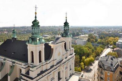Fototapeta Archikatedra św. Jana Chrzciciela i Jana Ewangelisty w Lublinie