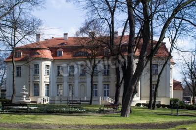 Fototapeta architektura Historyczne w Łodzi