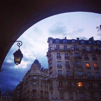 Fototapeta Architektura Paryżu