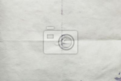 Fototapeta Arkusz starego papieru złożone, abstrakcyjne tło