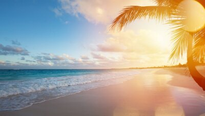 Fototapeta Art Letnie wakacje Ocean Beach