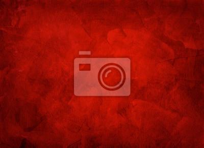 Fototapeta Artystyczna ręcznie malowane wielowarstwowy czerwonym tle