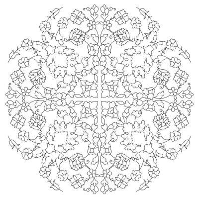 Fototapeta artystyczne sułtan linia wzór seria dwadzieścia dziewięć