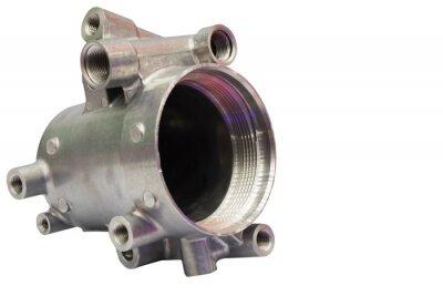 Fototapeta as machined aluminium high pressure die casting parts