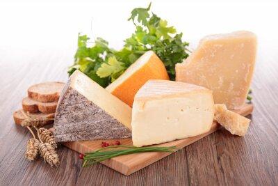 Fototapeta asortyment serów