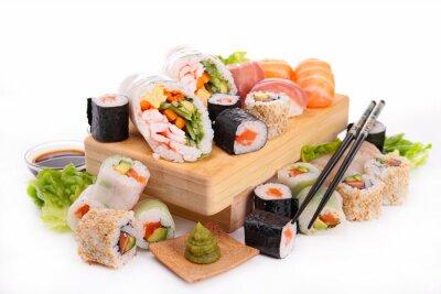 Fototapeta Asortyment sushi