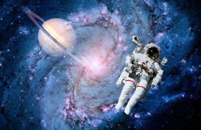 Fototapeta Astronauta Spaceman Black Hole
