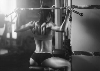 Fototapeta Athletic kobieta
