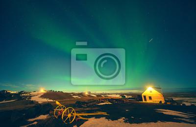 Aurora Borealis Northern Light Islandia