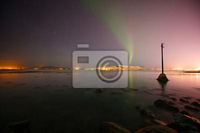 Aurora, Reykjavik, Islandia