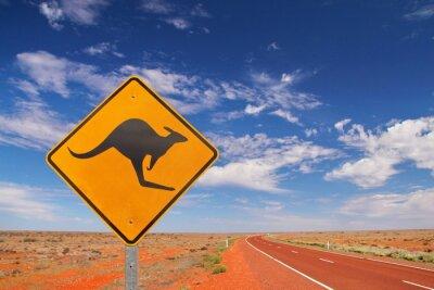 Fototapeta Australijskie drogi niekończące