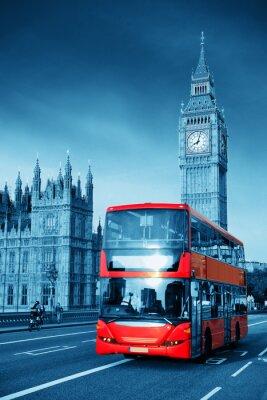 Fototapeta Autobus w Londynie