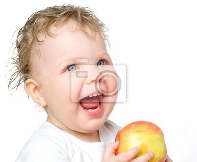 babe z jabłkami