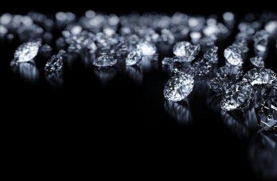 Fototapeta Background Diamonds