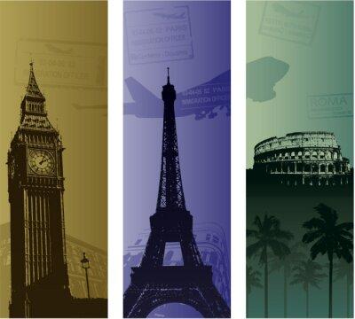 Fototapeta Background Travel