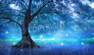 Fototapeta Bajkowe Drzewo W Mystic Forest