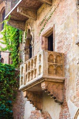 Fototapeta Balkon Romea i Julii w Weronie