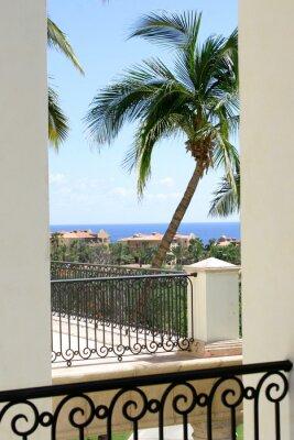 Fototapeta Balkon Widok