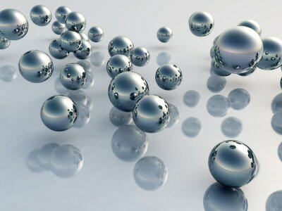 Fototapeta Balls 3D