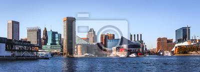 Fototapeta Baltimore Downtown Skyline Panorama