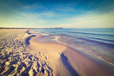 Fototapeta Bałtycka plaża morze, archiwalne zdjęcia.