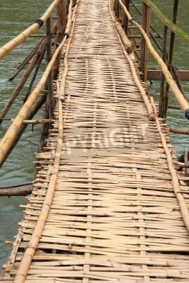 Fototapeta Bambus Most