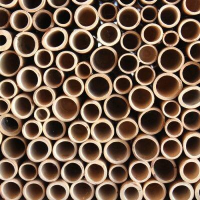 Fototapeta Bambus ściana
