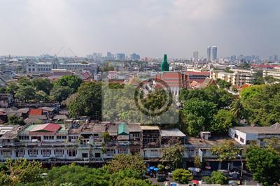 Bangkok Widok z Golden góry