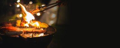 Fototapeta barbecue camping