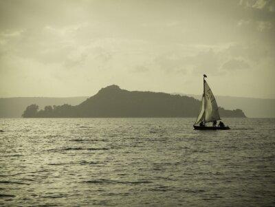 Fototapeta barca vela