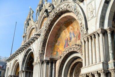 Fototapeta Basilica San Marco w Wenecji, Włochy