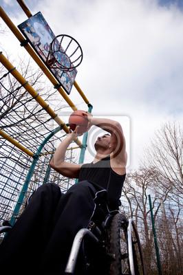 Fototapeta Basketballer